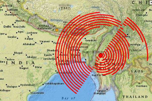 Earthquake-Myanmar-India-Tibet-2016-0