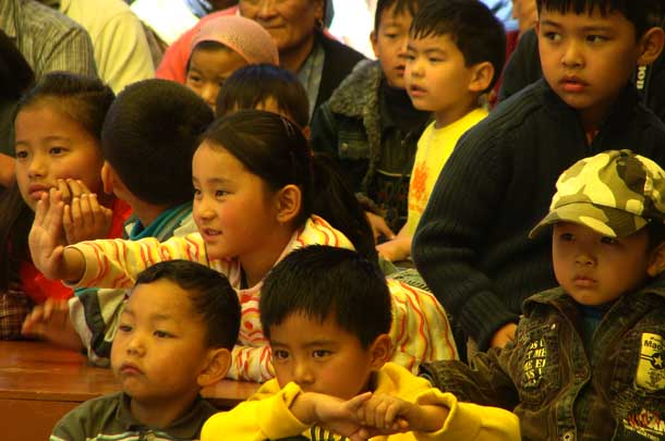 Tibetan students in Dharamshala-India. Photo: File/TPI