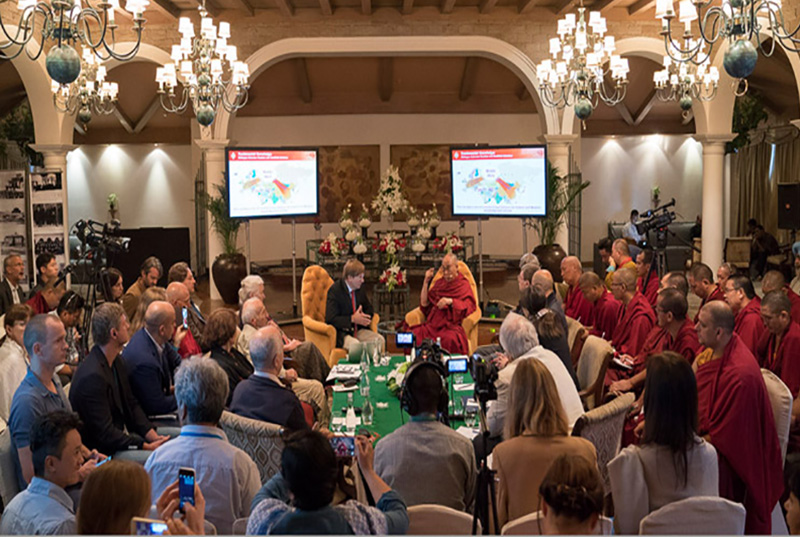 HHDL russian buddhist conf