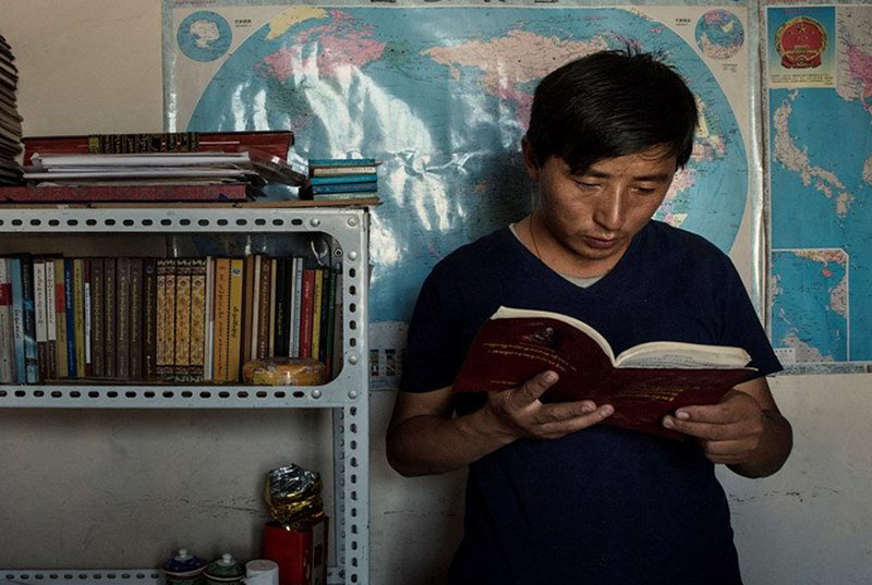 Tibetan language rights advocate Tashi Wangchuk. Photo: File