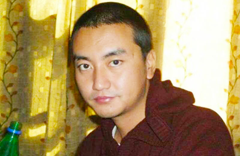 Tashi Choeyang was arrested and secretly sentenced to six years while he visited his family in Tibet from India. Photo: TPI