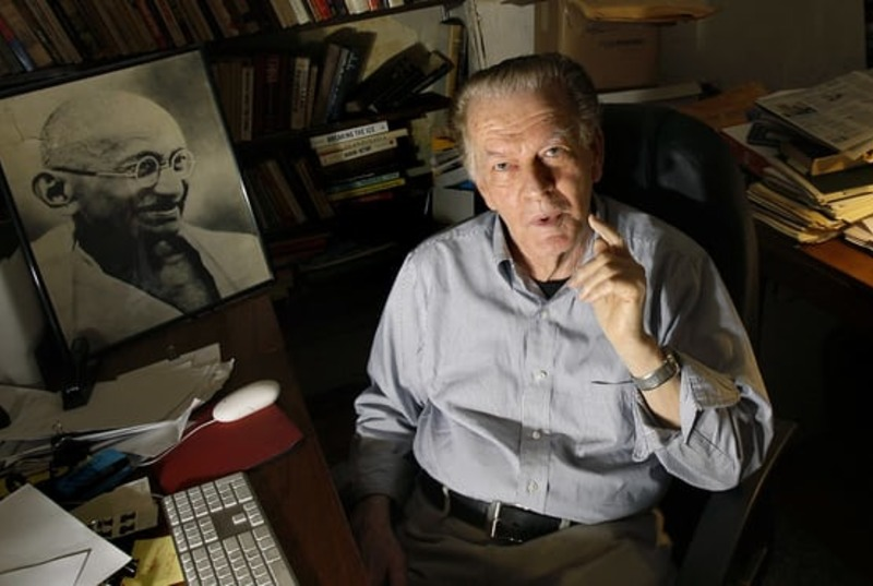 Gene Sharp, lifelong advocate of nonviolent political resistance died at age 90. Photo: file