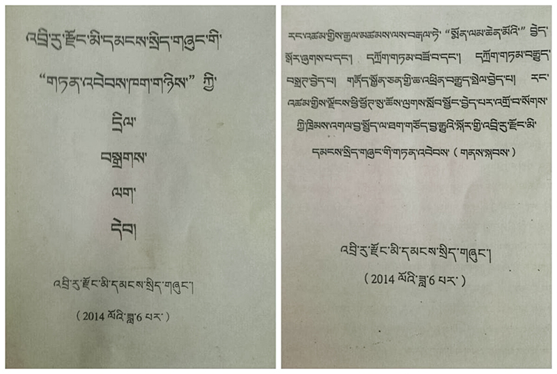 Tibet-Driru-China-official-documents-2014