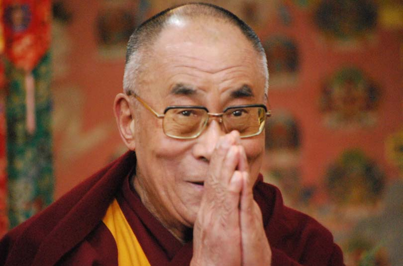 His Holiness the Dalai Lama of Tibet. Photo: TPI file