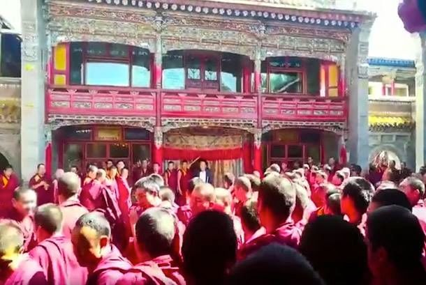 kumbum monastery tibet protests
