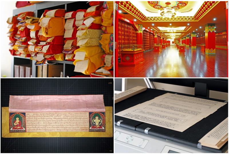 Koleksi digital TBRC meliputi sekitar 20.000 jilid kepustakaan Tibet yang berasal dari abad kedelapan hingga abad kedua puluh.
