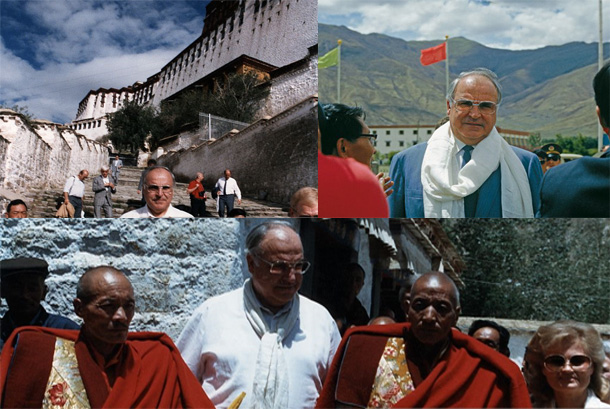 Germany-Chancelor-Helmut-Kohl-Lhasa-Tibet