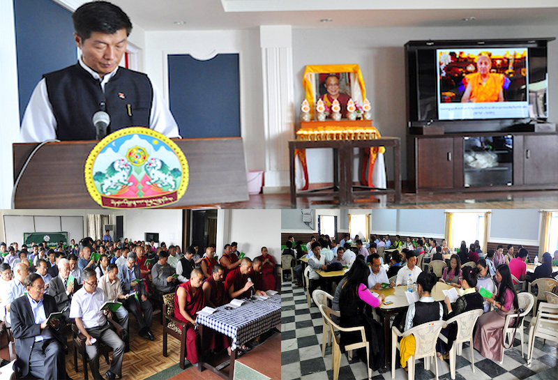 Leaders of Tibet condole passing of Sakya Dagchen Rinpoche
