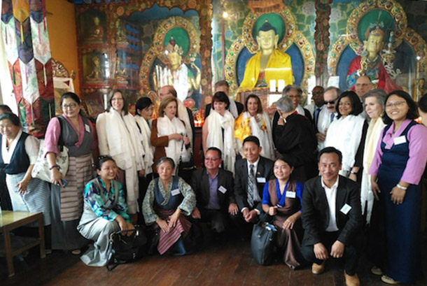 US Congressional delegation visits Tibetan settlements in Nepal