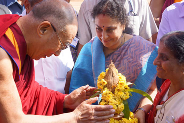 His Holiness The Dalai Lama Says Tibetans Live in Constant