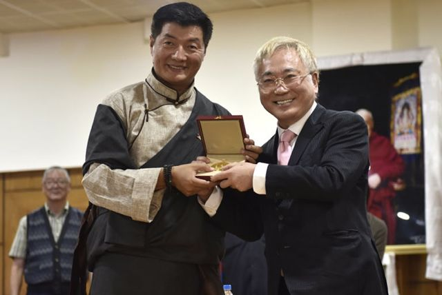Sikyong awarded japan group