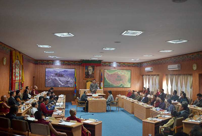 Tibet-China-India-Parliament-2014