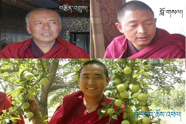 four monks arrested by chinese police in tseo