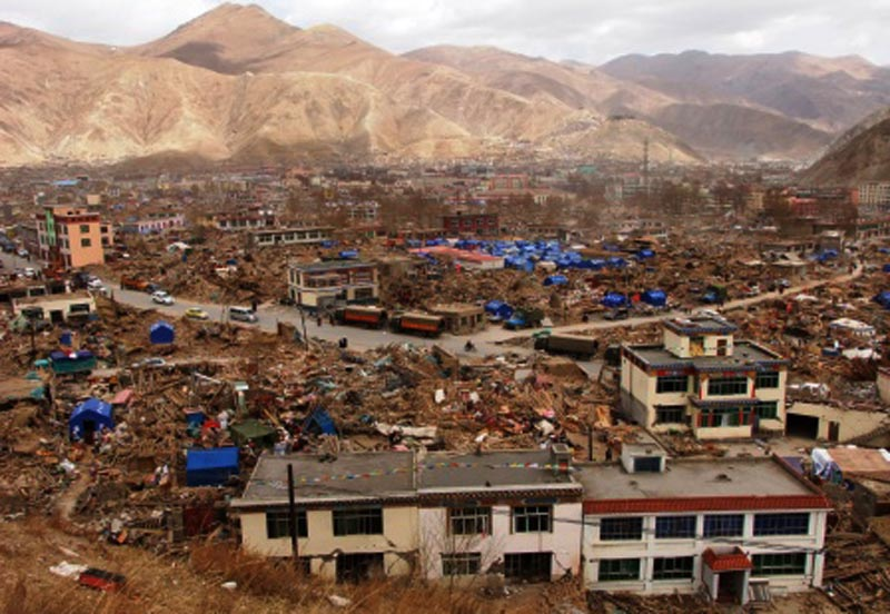 Kyigudo county of Tibet where deadly earthquake rocked. Photo: TPI