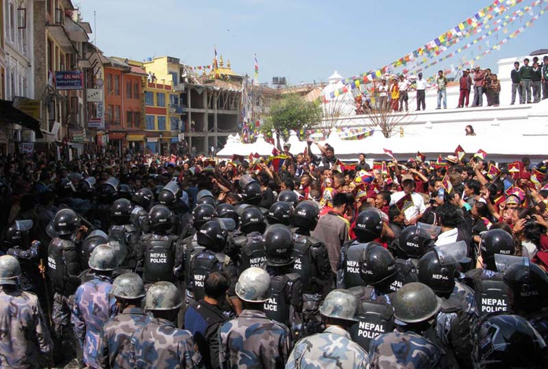 tibetan refugees in nepal United states and nepal relative size comparison view both areas on a map to   united states is about 67 times bigger than nepal nepal is approximately.