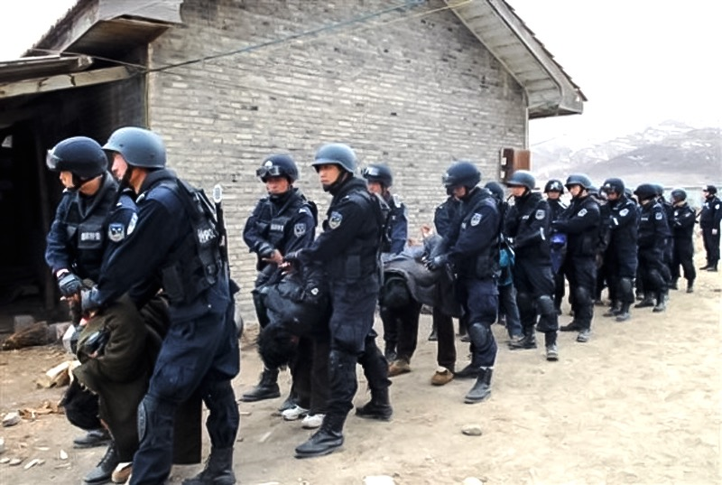 China's military crackdown in occupied Ngaba County of eastern Tibet.