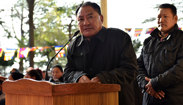 Pema Jungney, Speaker of the 16th Tibetan Parliament-in-Exile. Photo: TPiE