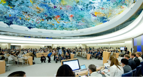 The United Nations Human Rights Council. Photo: File