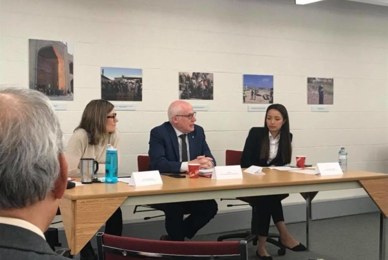In partnership with the University of Ottawa's Human Rights Research and Education Centre, the Canada Tibet Committee (CTC) hosted a workshop on March 22, 2018, to discuss the impact of Canada-China Free Trade Agreement on human rights in Tibet. Photo: CTC