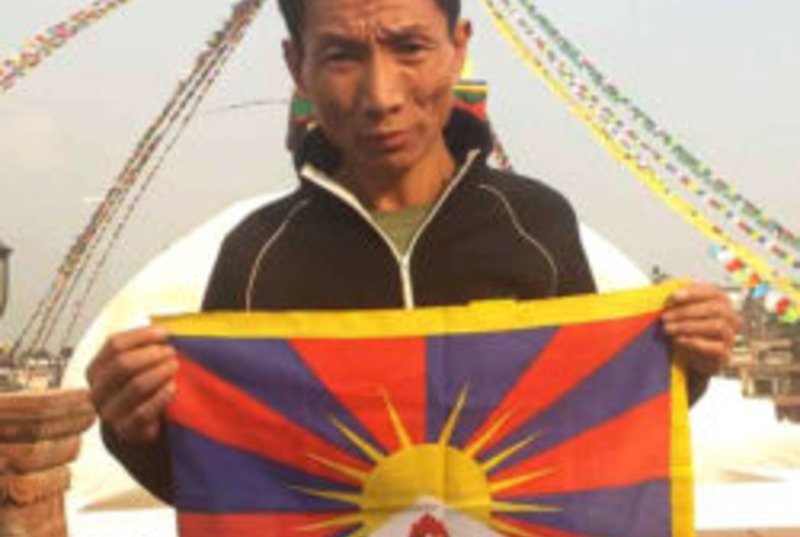 Tibetan advocate Adak detained and interrogated for ten days in Nepal. Photo: ICT