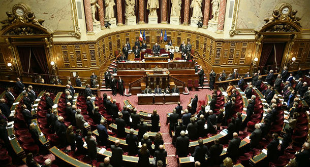 The Senate, the upper house of the French Parliament. Photo: File
