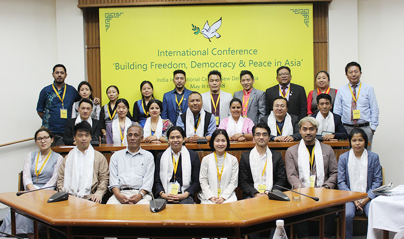 The 1st International Conference on 'Building Freedom, Democracy and Peace in Asia' was held from May 11 – May 12, 2018 at the India International Center in New Delhi India. Photo: TPI