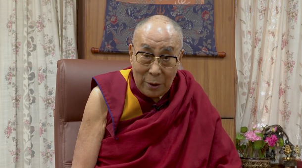 His Holiness the Dalai Lama thanks the People and Government of Himachal Pradesh in a special video message. Video courtesy/OHHDL