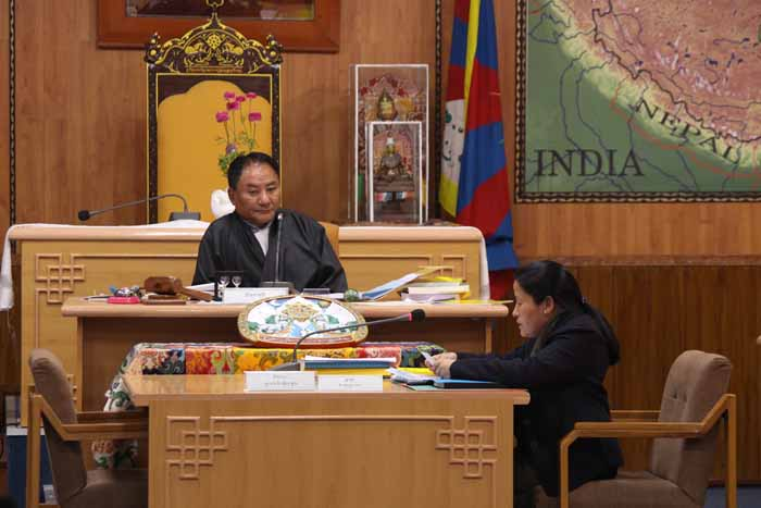 Pema Jungney, Speaker of the Tibetan Parliament-in-Exile. Photo: TPiE