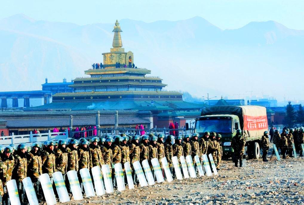 L'occupazione militare in corso nel Tibet orientale da parte del regime comunista totalitario in Cina.  Foto: TPI / File