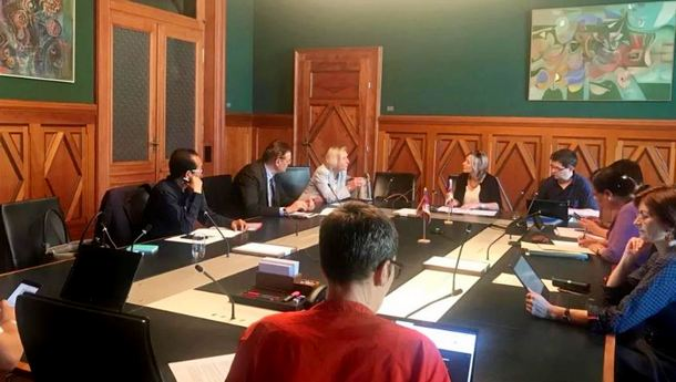 Swiss Parliamentary Group for Tibet feld its summer session meeting on June 17, 2019,  at the parliament building office in Bern, Switzerland. Photo: Tibet Bureau in Geneva