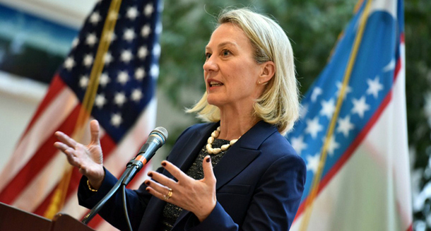 Alice Wells, Acting Assistant Secretary of State, Bureau of South and Central Asian Affairs, United States of America. Photo: File