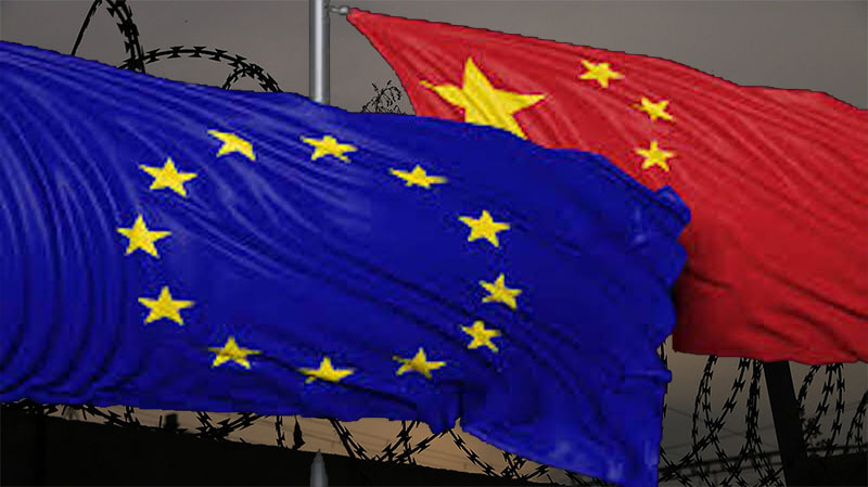 The 22nd EU-China summit will be held virtually, because of the Covid-19 pandemic, on June 22, 2020. Photo: File