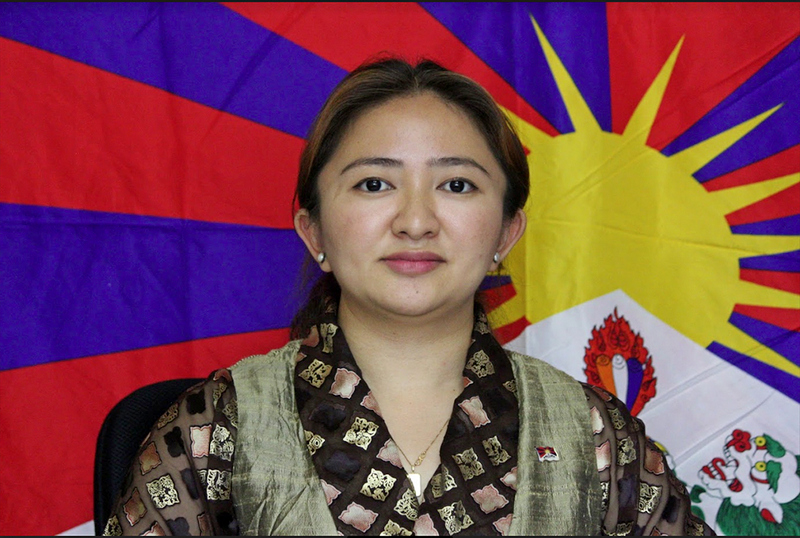 Rinzin Choedon, National Director of Students for a Free Tibet- India. Photo: TPI