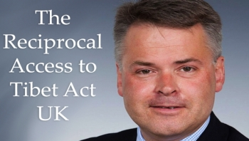 UK MP Tim Loughton speaks of strong support for Tibet issue
