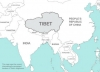 Where is Tibet located on a map?