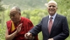 His Holiness the Dalai Lama with Sen John McCain in Aspen, Colorado, USA in 2008. Photo: AP/Carolyn Kaster