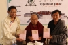 Deputy Speaker at the book launch. Photo/Tibetan Parliamentary Secretariat