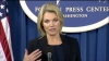 Washington Foreign Press Center Briefing with Spokesperson Heather Nauert. Photo: U.S. Department of State
