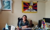 Namgyal Dolkar Lhagyari, President of the Gu-Chu-Sum movement for former Tibetan political prisoners, based in Dharamshala, India. Photo: TPI