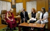 His Holiness the Dalai Lama in conversation with the members of German Parliamentary delegation at his residence in Dharamshala, India, September 18, 2019. Photo: OOHHDL
