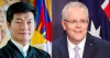 President Dr Lobsang Sangay extended his congratulations to Australian Prime Minister Hon Scott Morrison on his Liberal Coalition party's remarkable victory in the general elections. Photo: TPI