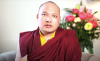 The 17th Gyalwang Karmapa, Ogyen Trinley Dorje speaking about the approach to cope with the ongoing COVID-19 crisis. Photo: Kagyu Office website