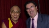 His Holiness the Dalai Lama with John Hume in Northern Ireland on October 19, 2000. Photo PA