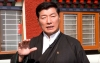 In a video message, President Dr Lobsang Sangay urged the Tibetans inside Tibet to strictly follow the basic protective measures against the new coronavirus. Photo: TibetTV