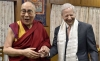 Ambassador Kenneth I. Juster with His Holiness the 14th Dalai Lama, in Dharamshala, India. Photo: File