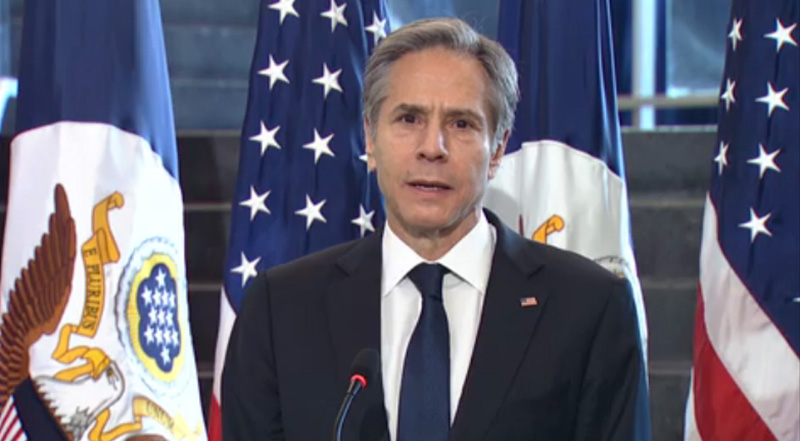 Antony Blinken, Secretary of United States. Photo: File