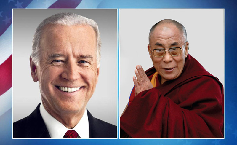 His Holiness the Dalai Lama congratulated US President Joe Biden on inauguration