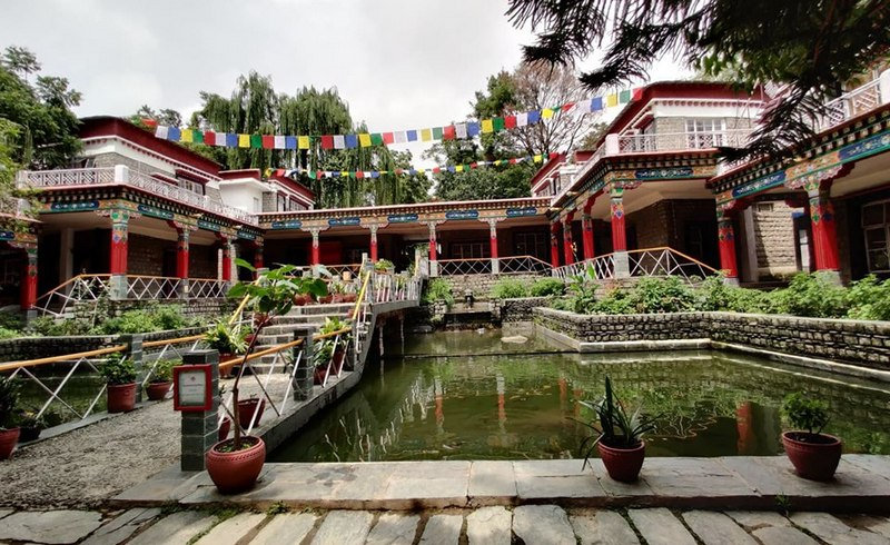 Tibetan arts and culture are kept alive at Sidhpur's Norbulingka Institute in a beautiful setting, Dharamshala, India. Photo: TPI/Anisha Joneja