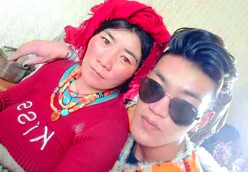 Wangchen and his aunt Donkar were sentenced up to four years in prison. Photo: TPI