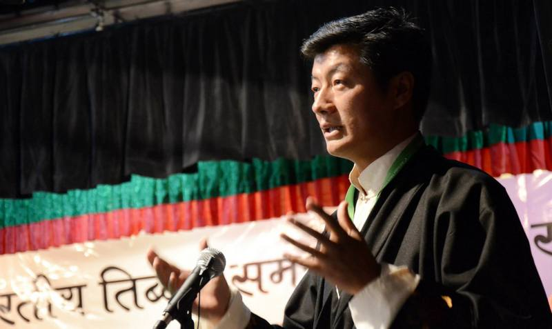 Dr Lobsang Sangay, President of the Central Tibetan Administration based in Dharamsala, India. Photo: TPI/file